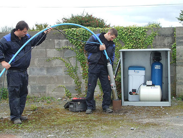 remplacement pompe de puit